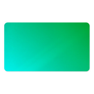 D2 Linear Gradient - Green to Cyan Business Cards