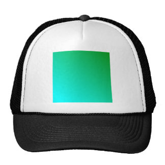D2 Linear Gradient - Green to Cyan Hat
