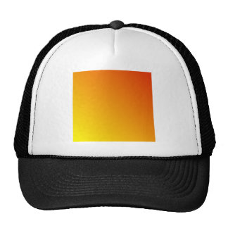 D2 Linear Gradient - Red to Yellow Mesh Hat