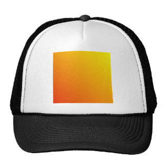 D2 Linear Gradient - Yellow to Red Trucker Hats