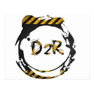D2R logo Postcard