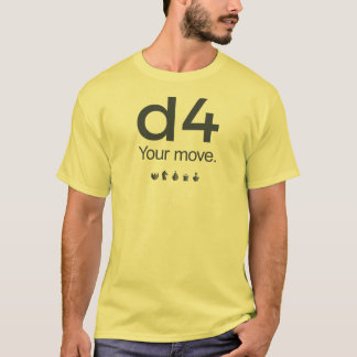 D4 Chess Shirt: Series 1 T-Shirt