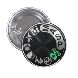 D90 Mode Dial Pinback Button