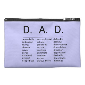 D.A.D. Father's Day Travel Accessories Bag
