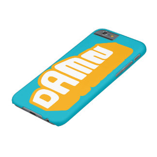 D A M N Neon Orange iPhone 6+ case Barely There iPhone 6 Case
