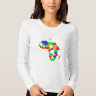 D Africa coloré Femmes T-shirts