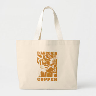 d Anconia Copper Copper Logo Tote Bags