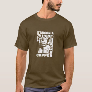 d'Anconia Copper / White Logo T-Shirt