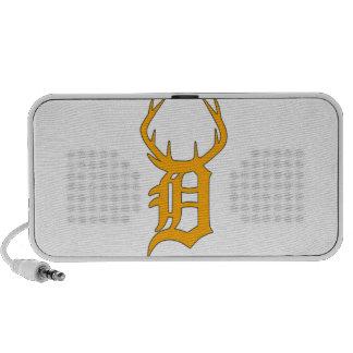 D Antlers iPhone Speaker