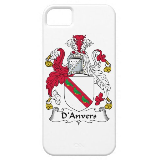 D'Anvers Family Crest iPhone 5 Cases