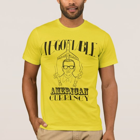D.B. Cooper - Negotiable American Currency T-Shirt