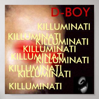 D-BOY KILLUMINATI POSTER