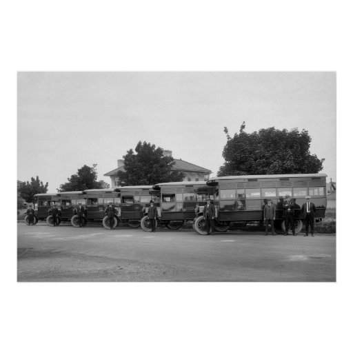 D.C. Bus Fleet, 1921 Posters