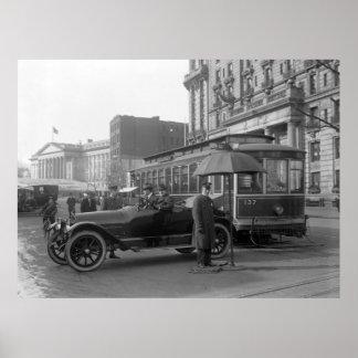 D.C. Traffic Cop, 1913 Poster