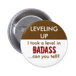 D&D - Badass Pinback Buttons