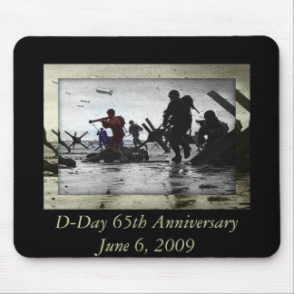 D-Day 65th Anniversary June 6, 2009 Mouse Mat