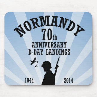 D-Day 70th Anniversary Mousemat