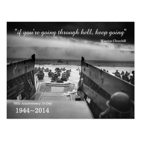 D-Day 70th Anniversary postcard