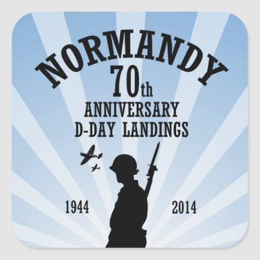 D-Day 70th Anniversary Stickers