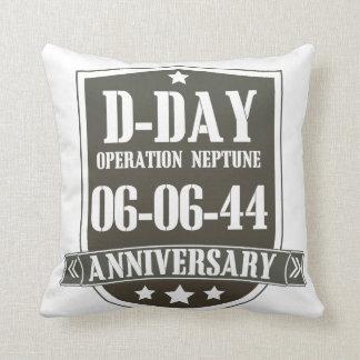 D-Day Anniversary Badge Cushion