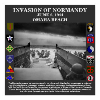 D-Day Invasion Of Normandy Poster