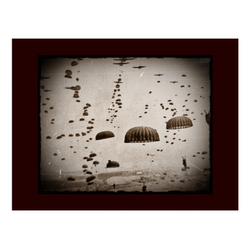 D-Day Landings Assorted Images Post Card