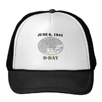 D-Day Map Cap