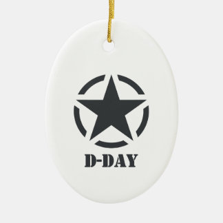 D-Day Normandy - Day-J - Normandy Christmas Ornament