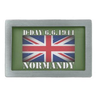 D-Day UK Flag 6th June 1944 Belt Buckle