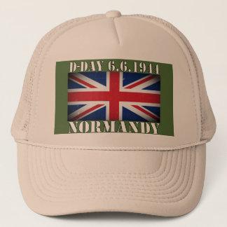 D-Day UK Flag 6th June 1944 Cap