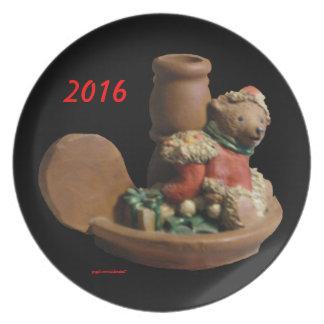D.ELF BROTHER BEAR  KY.BLUEGRASS ELF 2016 PLATE