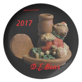 D.ELF BROTHER BEAR  KY.BLUEGRASS ELF 2017 PLATE