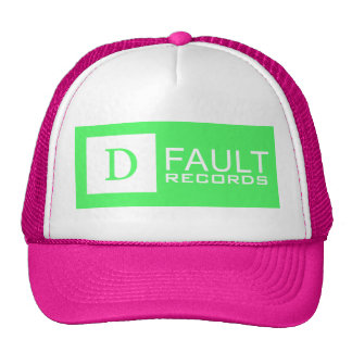 D-Fault Records Neon Trucker Hat