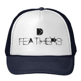 D FEATHERS CUSTOM CAP BY WASTELANDMUSIC.COM TRUCKER HAT