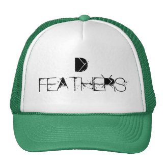 D FEATHERS CUSTOM CAP BY WASTELANDMUSIC.COM