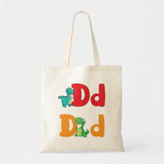 D For Dinosaur Tote Bag