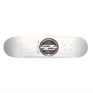 D I B Iris logo Skate Boards