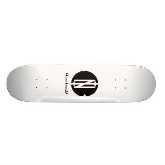 D I B Negative Logo Custom Skate Board