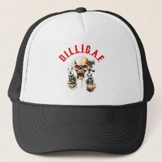 D.I.L.L.I.G.A.F. TRUCKER HAT