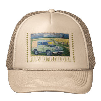 D.I.Y Hardware : Truckers Hat