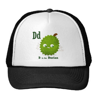 D if for Durian Mesh Hats