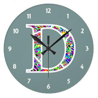 D Illuminated Monogram Clocks