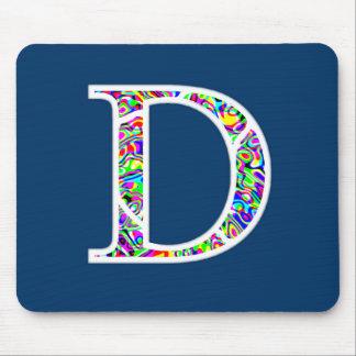 D Illuminated Monogram Mouse Pad