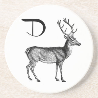 D is for Deer Coaster