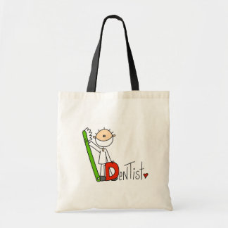 D is for Dentist Tote Bag