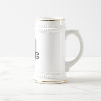 D is for Desiree Beer Stein