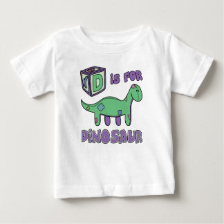 D is for Dinosaur Baby T-Shirt