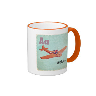 D is for Dinosaur Coffee Mugs