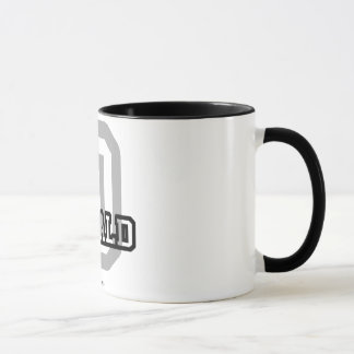 D is for Donald Mug
