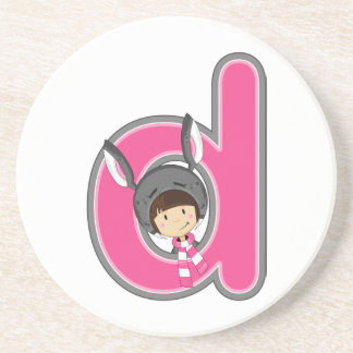 D is for Donkey Girl Coaster